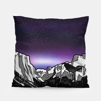 Yosemite Valley Pillow Bild der Miniatur