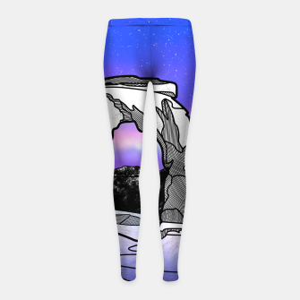 Thumbnail image of Delicate Arch Girl's leggings, Live Heroes