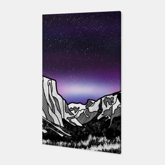 Miniatur Yosemite Valley Canvas, Live Heroes