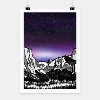 Thumbnail image of Yosemite Valley Poster, Live Heroes