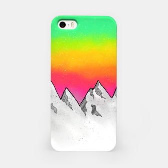 Mountain Scene iPhone Case Bild der Miniatur