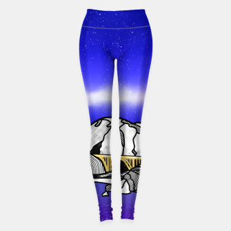 Miniatur Big Sur Leggings, Live Heroes