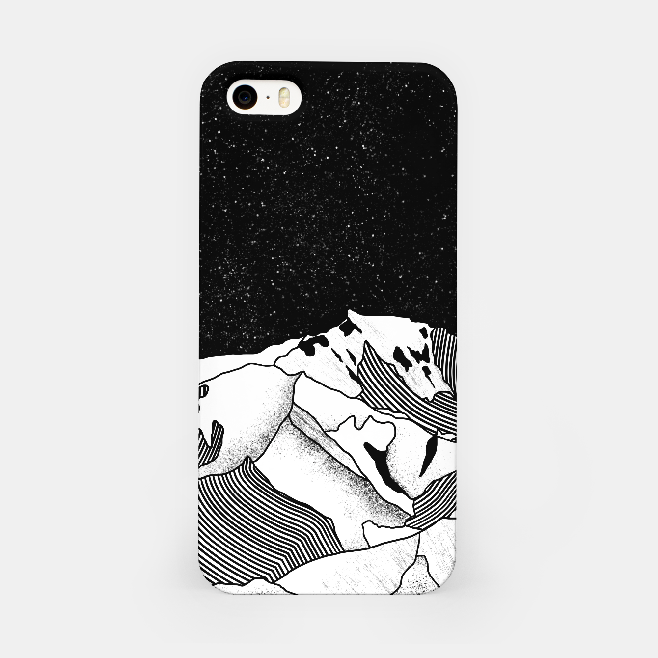 Foto Mont Blanc iPhone Case - Live Heroes