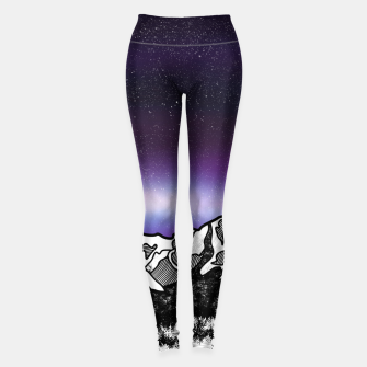 Yosemite Valley Leggings Bild der Miniatur