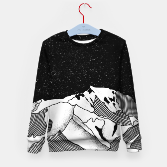 Thumbnail image of Mont Blanc Kid's sweater, Live Heroes