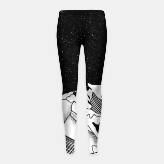 Thumbnail image of Mont Blanc Girl's leggings, Live Heroes