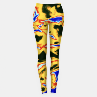 Thumbnail image of Yellow and black pattern Leggings, Live Heroes