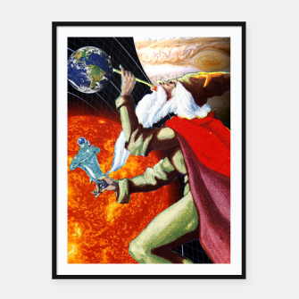 Miniatur Magic of Life Framed poster, Live Heroes