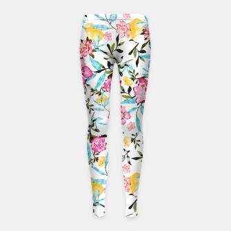 Thumbnail image of Florela Girl's leggings, Live Heroes
