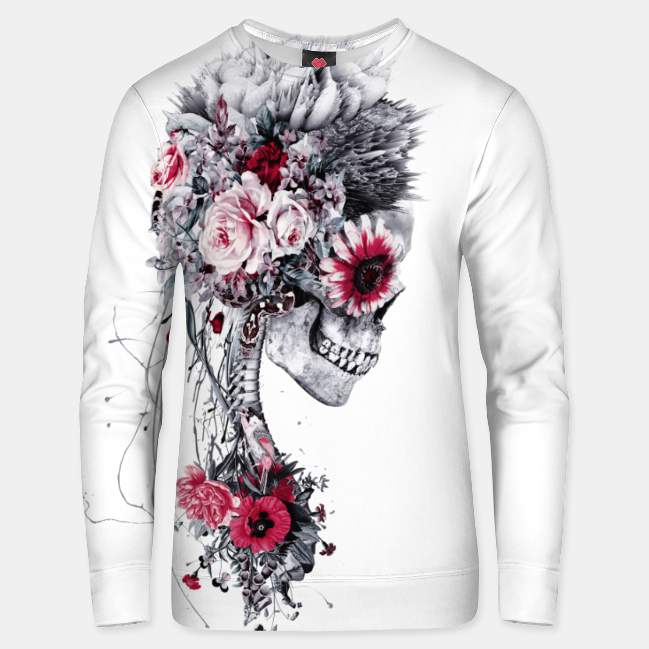 Image de Skeleton Bride Unisex sweater - Live Heroes