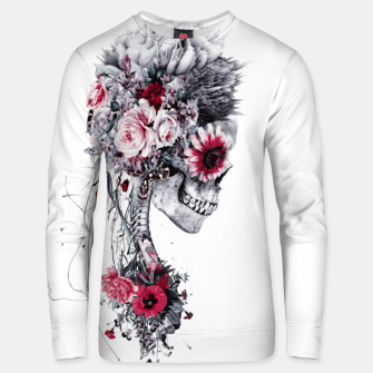 Miniatur Skeleton Bride Unisex sweater, Live Heroes