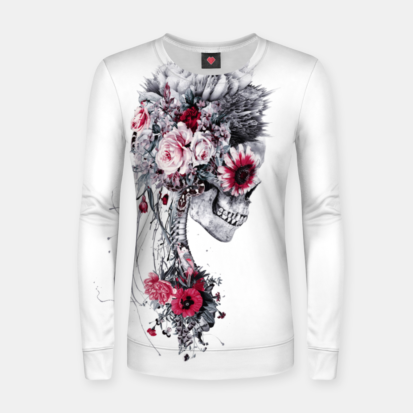 Foto Skeleton Bride Women sweater - Live Heroes