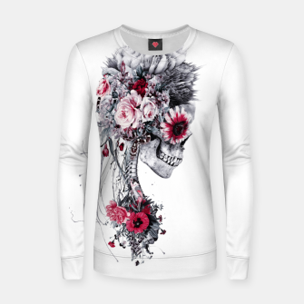 Miniatur Skeleton Bride Women sweater, Live Heroes