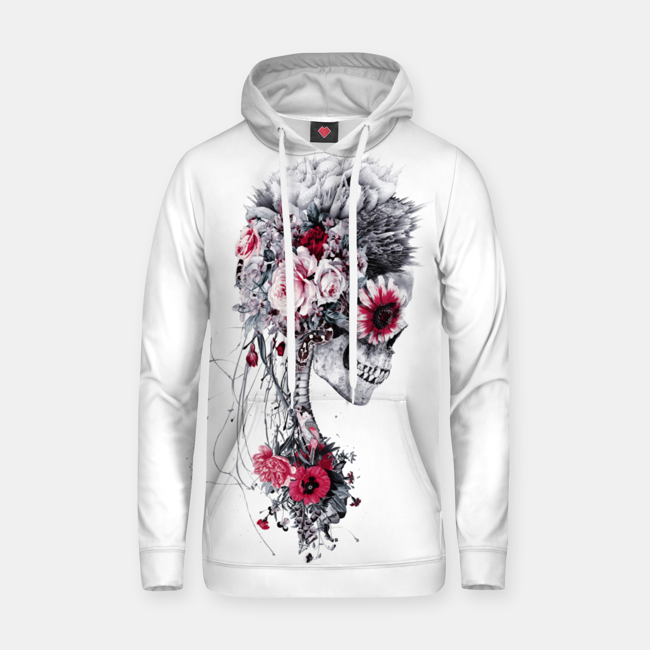 Image of Skeleton Bride Hoodie - Live Heroes
