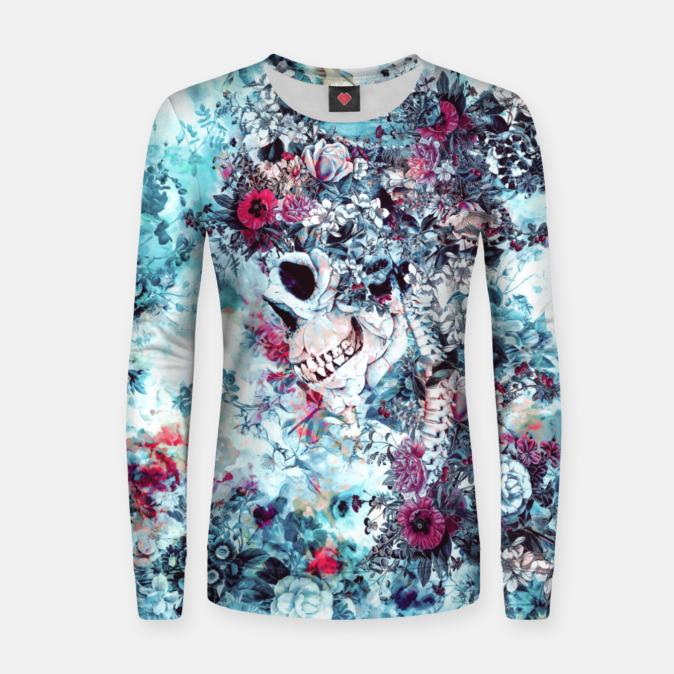 Image of Skull Queen II Women sweater - Live Heroes