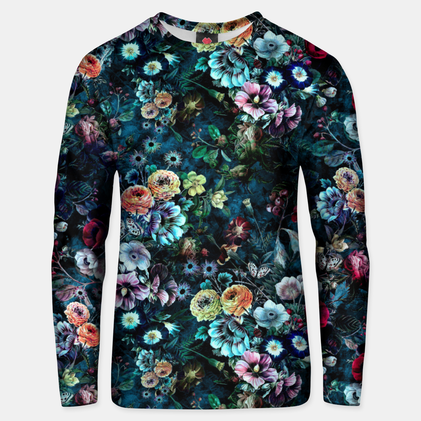 Image of Night Garden Unisex sweater - Live Heroes