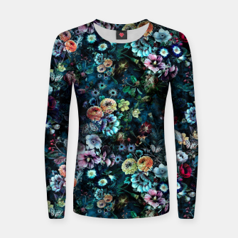 Miniatur Night Garden Women sweater, Live Heroes