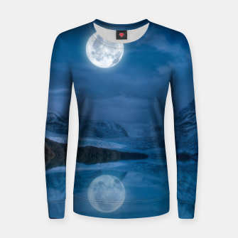 Thumbnail image of Winter Is Here - Cold Moon Women sweater, Live Heroes
