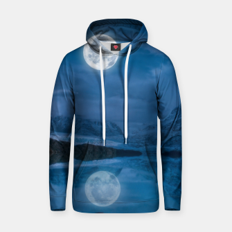 Thumbnail image of Winter Is Here - Cold Moon Hoodie, Live Heroes