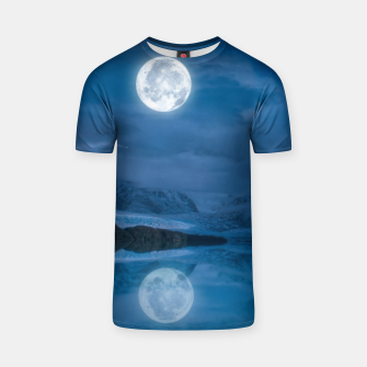 Miniaturka Winter Is Here - Cold Moon T-shirt, Live Heroes