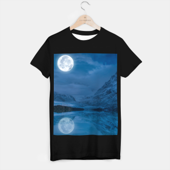 Thumbnail image of Winter Is Here - Cold Moon T-shirt regular, Live Heroes