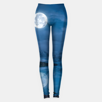 Thumbnail image of Winter Is Here - Cold Moon Leggings, Live Heroes
