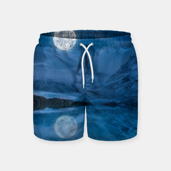 Thumbnail image of Winter Is Here - Cold Moon Swim Shorts, Live Heroes