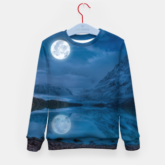 Thumbnail image of Winter Is Here - Cold Moon Kid's sweater, Live Heroes