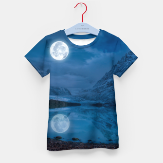 Thumbnail image of Winter Is Here - Cold Moon Kid's t-shirt, Live Heroes