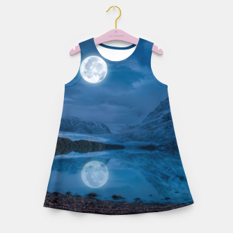 Thumbnail image of Winter Is Here - Cold Moon Girl's summer dress, Live Heroes
