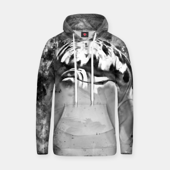 Thumbnail image of gxp dolphin splatter watercolor black white Hoodie, Live Heroes