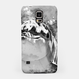 Thumbnail image of gxp dolphin splatter watercolor black white Samsung Case, Live Heroes