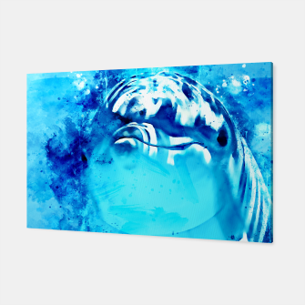 Thumbnail image of gxp dolphin splatter watercolor Canvas, Live Heroes