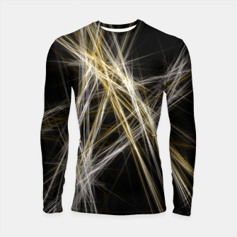 Thumbnail image of Abstract 1 - Gold & Silver Longsleeve rashguard, Live Heroes