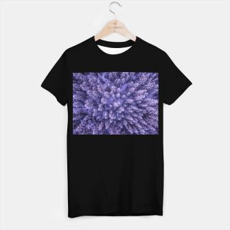 Thumbnail image of Winter Is Here - Aerial Woods T-shirt regular, Live Heroes