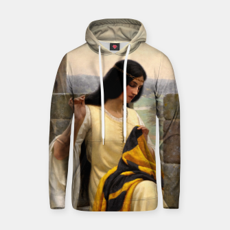 Thumbnail image of Stitching the Standard by Edmund Leighton Hoodie, Live Heroes