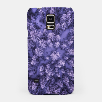 Thumbnail image of Winter Is Here - Aerial Woods Samsung Case, Live Heroes