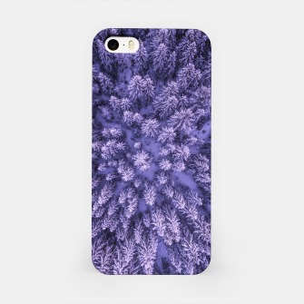 Thumbnail image of Winter Is Here - Aerial Woods iPhone Case, Live Heroes