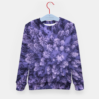 Thumbnail image of Winter Is Here - Aerial Woods Kid's sweater, Live Heroes
