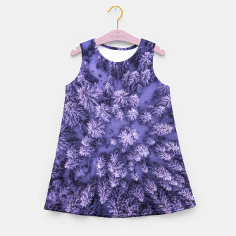 Thumbnail image of Winter Is Here - Aerial Woods Girl's summer dress, Live Heroes