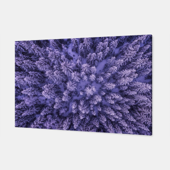 Thumbnail image of Winter Is Here - Aerial Woods Canvas, Live Heroes
