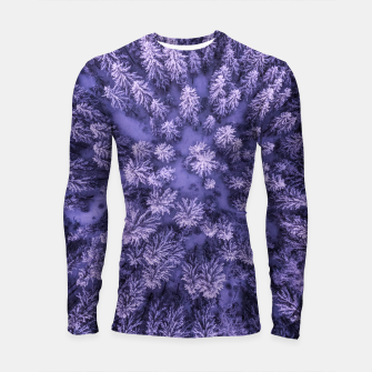Thumbnail image of Winter Is Here - Aerial Woods Longsleeve rashguard , Live Heroes