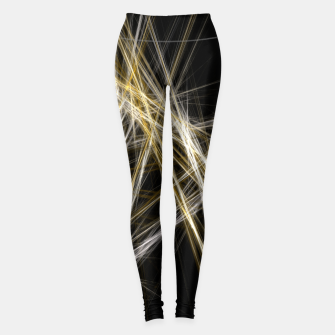 Thumbnail image of Abstract 1 - Gold & Silver Leggings, Live Heroes