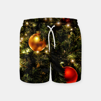 Thumbnail image of X-MAS - Christmas Tree Ornament Swim Shorts, Live Heroes