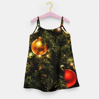 Thumbnail image of X-MAS - Christmas Tree Ornament Girl's dress, Live Heroes