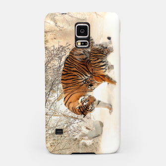 Miniature de image de Animals Big Cats - Tiger In The Snow  Samsung Case, Live Heroes