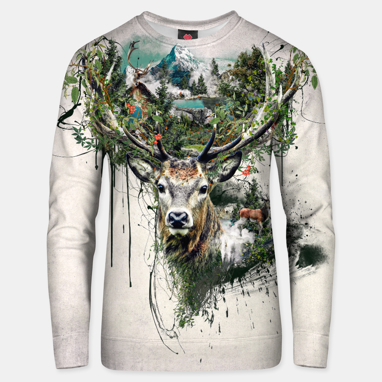 Image of Deer Unisex sweater - Live Heroes