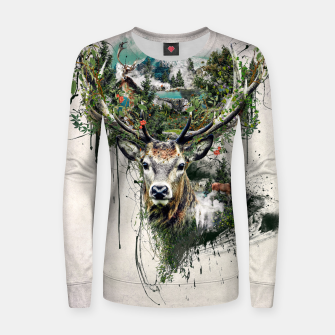 Thumbnail image of Deer Women sweater, Live Heroes