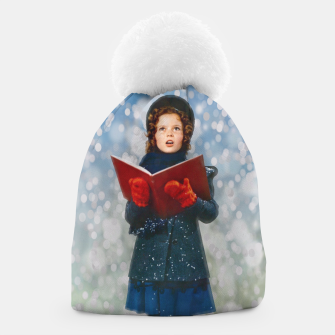 Thumbnail image of Shirley Temple Christmas Carol Beanie, Live Heroes