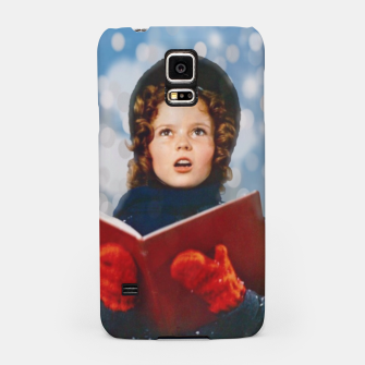 Thumbnail image of Shirley Temple Christmas Carol Samsung Case, Live Heroes